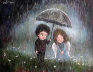 Нино Чакветадзе. Дождь