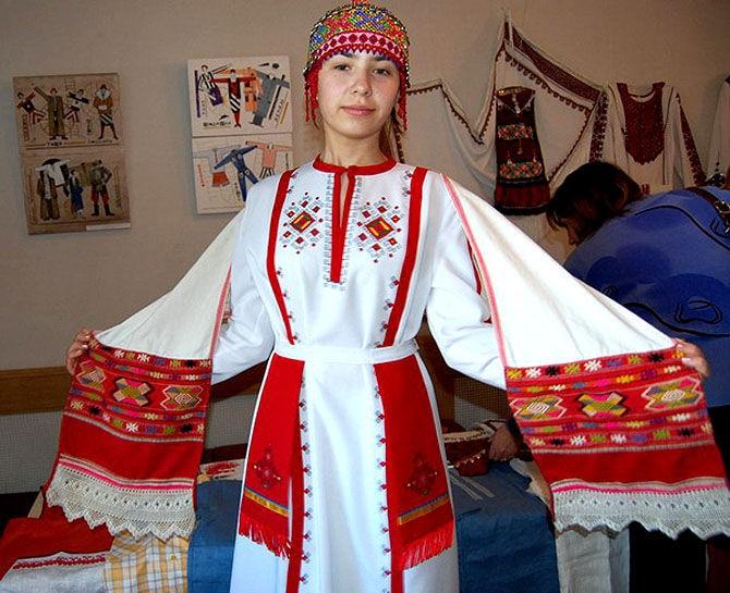 Чувашский Костюм Женский