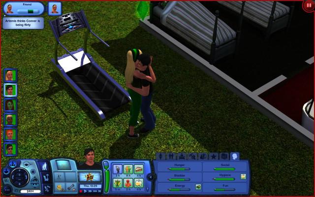 Young Justice Sims: Wally made his choice - nndaia