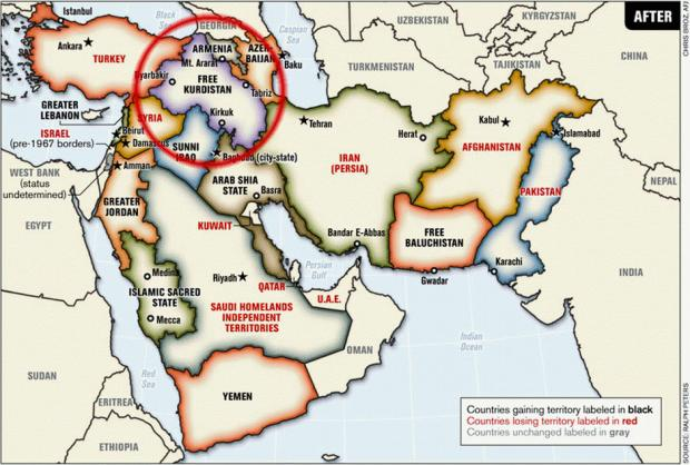 карта Ральфа
