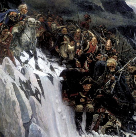 суворов, Альпы