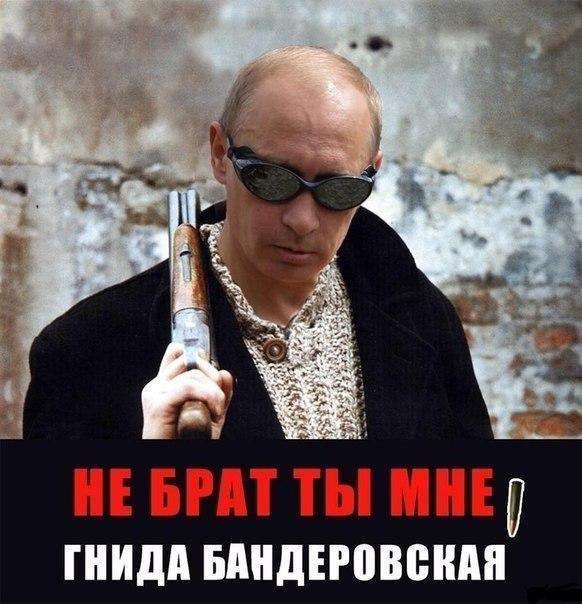 путин - не брат ты мне