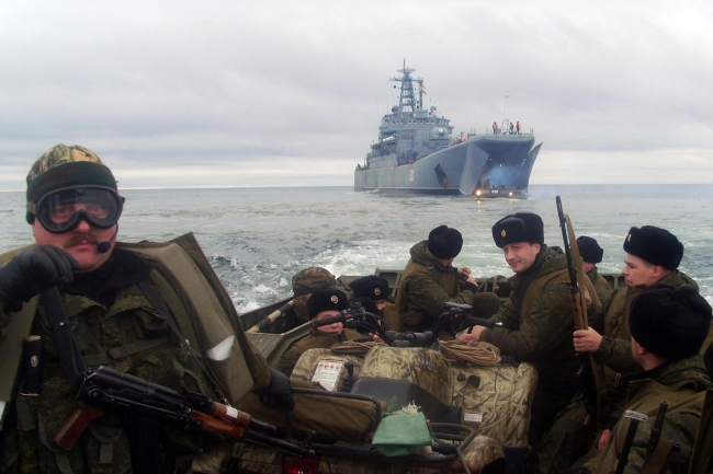 морпехи в Арктике