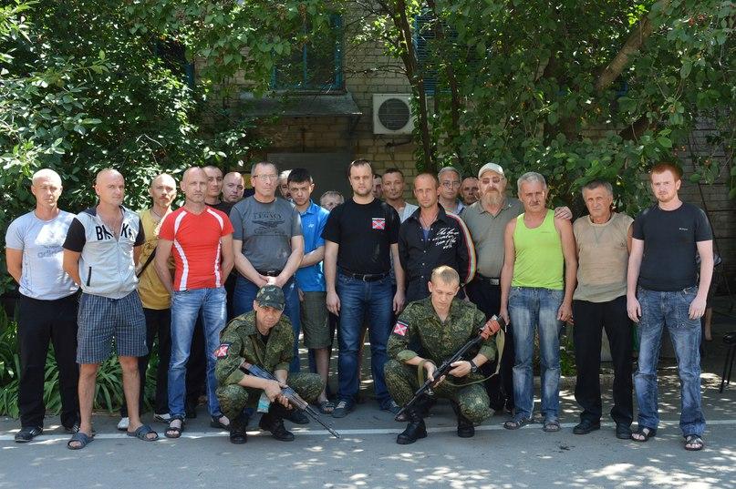 ополчение в Славянск