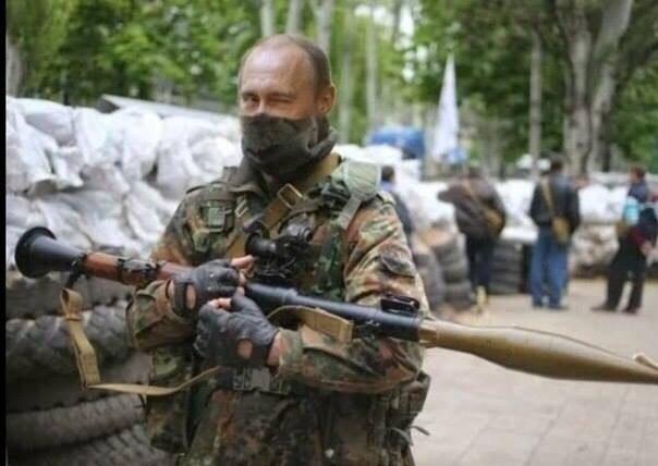Путин боец ЛНР