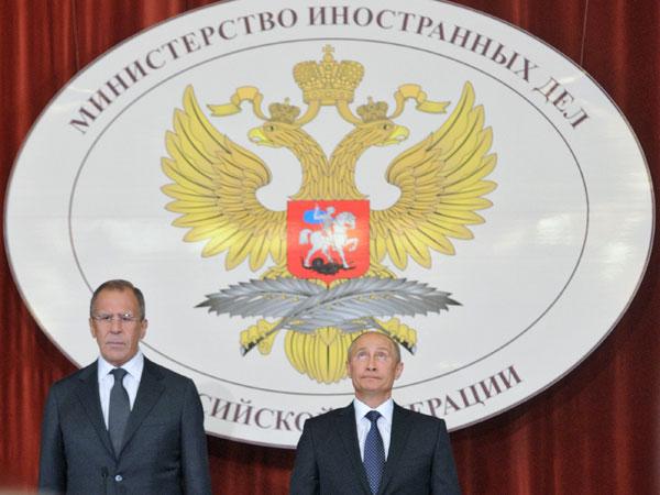 Путин МИД лавров