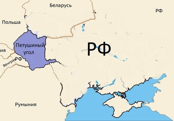 карта - петушинный угол