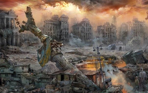киев руина