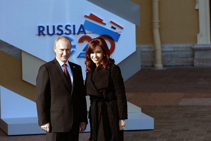 Путин в Аргентине