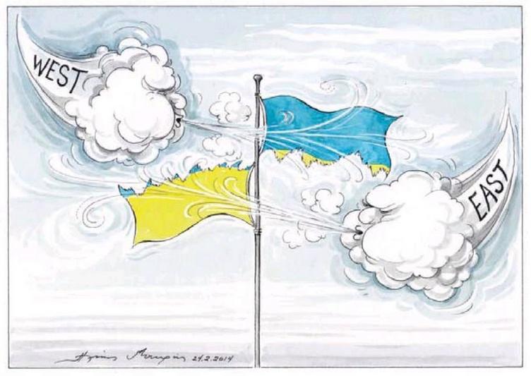 украина - Запад-Восток