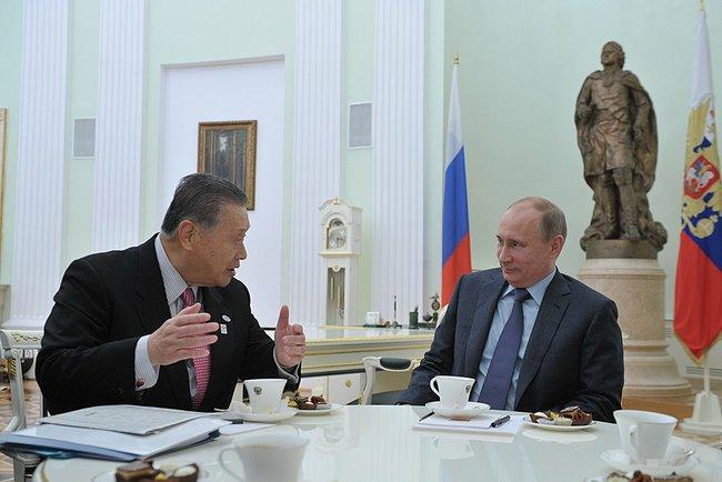 Путин и Мори
