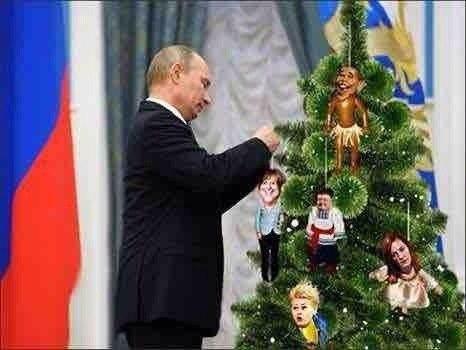 путин елка