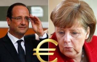 оланд и меркель