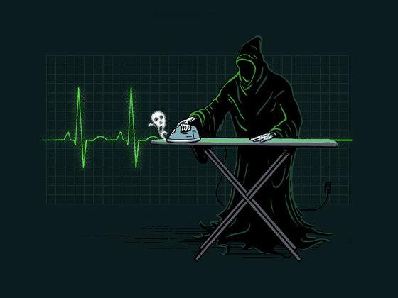 карикат смерти