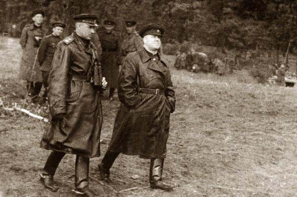 жуков и Рокоссовский