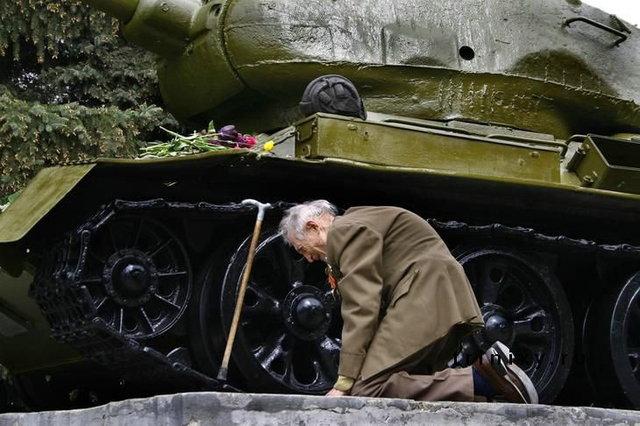 ветеран и танк