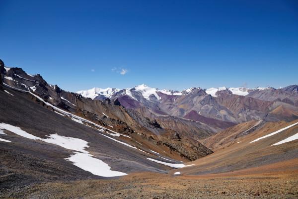 Вид с перевала Kanji La