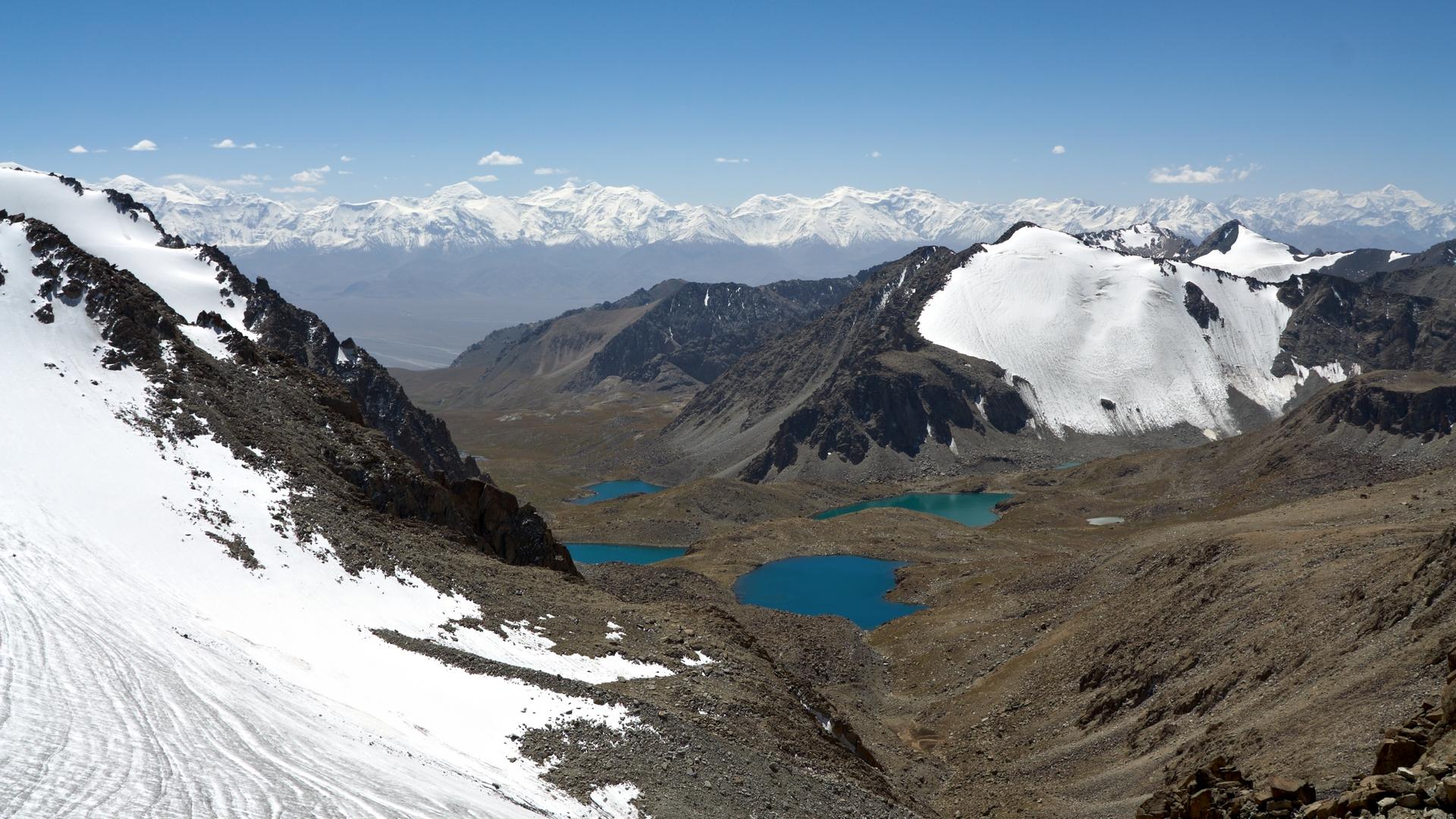 Озера Дамджайлоо и Памир