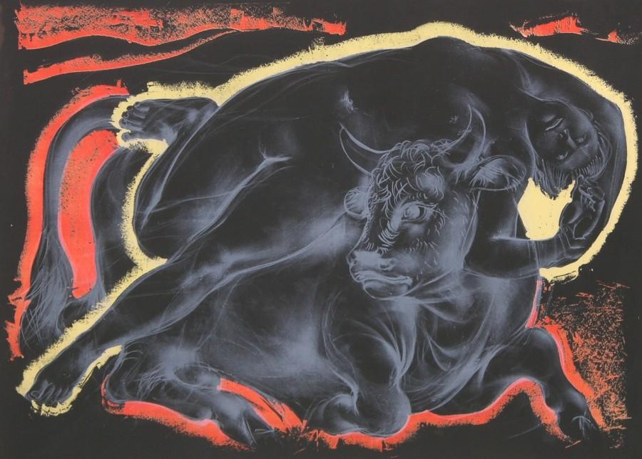 Europa and the Bull _ Hans Erni _ Swiss, b. 1909