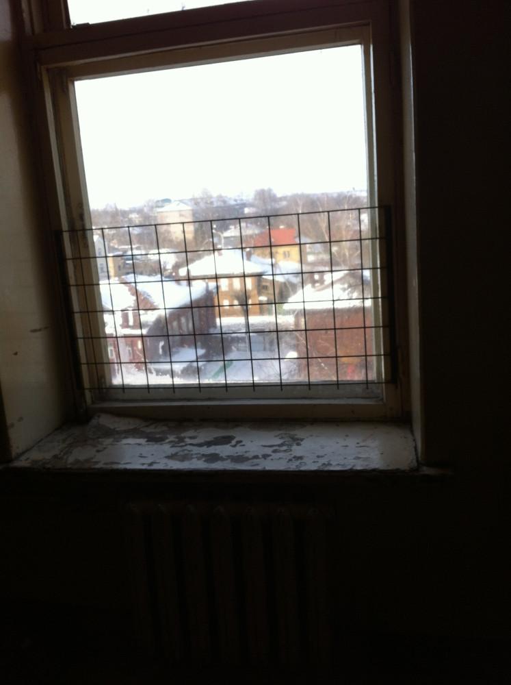 Кострома 2-я городская больница. Окно.