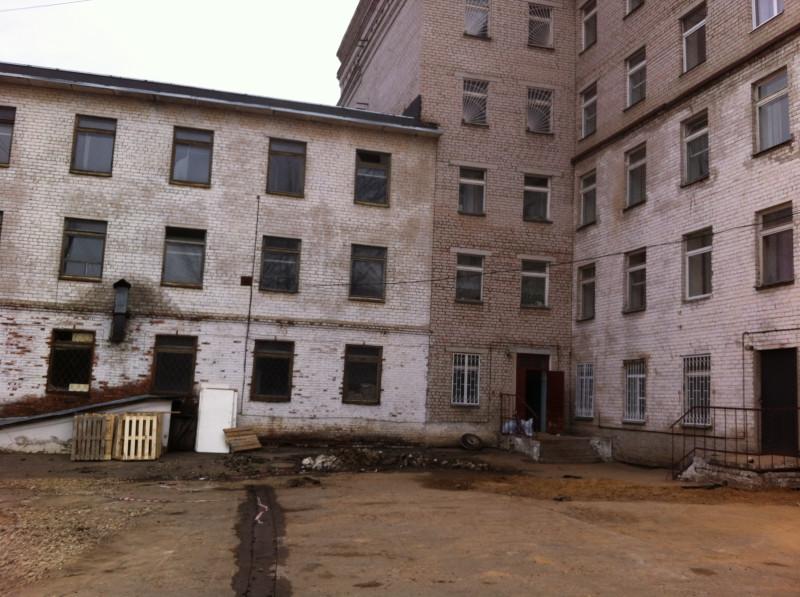 Кострома 2-я городская больница. Вид сзади.