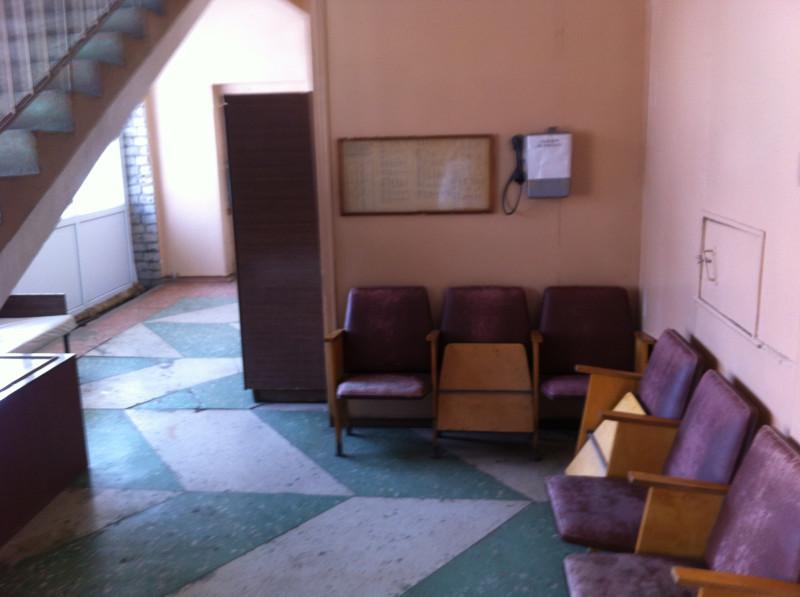 Кострома 2-я городская больница. Комната ожидания.