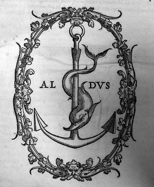 Издательская марка Альда Мануция