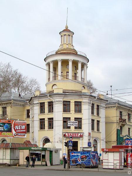 Жилой дом по ул.Салютной,32 с магазином «Башня»
