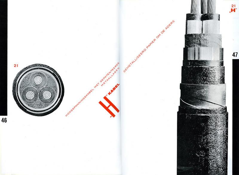 Пит Цварт. Каталог Дельфтской кабельной фабрики