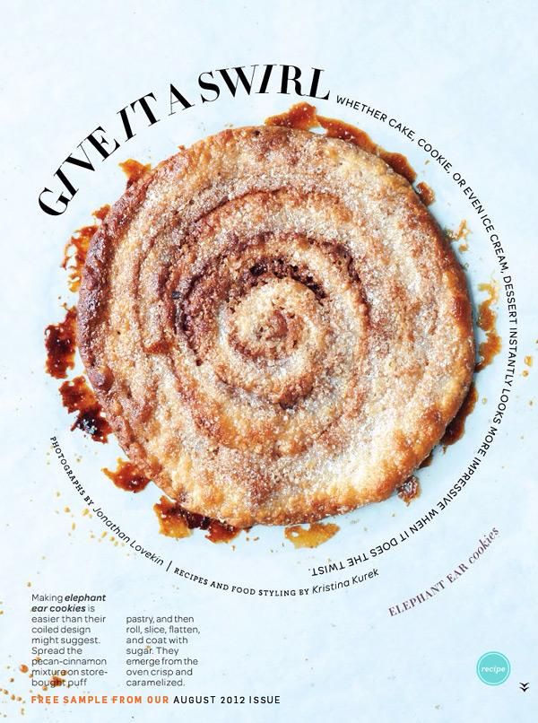 Страница электронного журнала Everyday Food. Издательство Марты Стюарт, август 2012