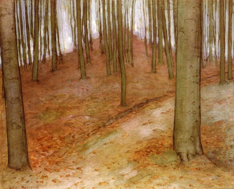 Буковый лес. Около 1899