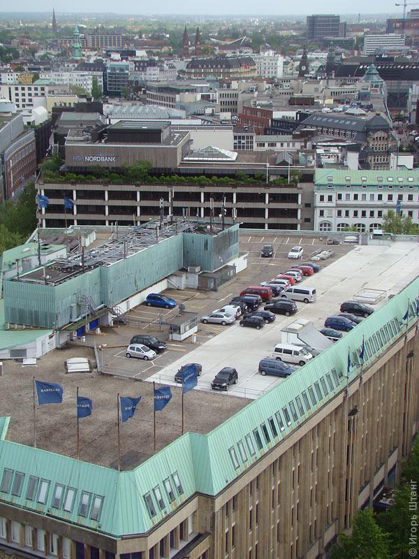 Парковка на крыше