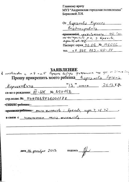 Регистрация жены по месту жительства мужа