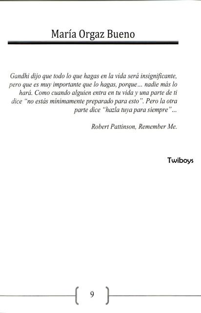 Robert Pattinson Mencionado En El Libro Amor Inesperado Twiboys