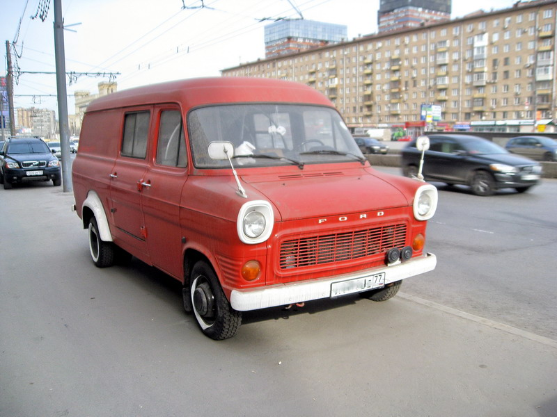 ford transit front уменьш