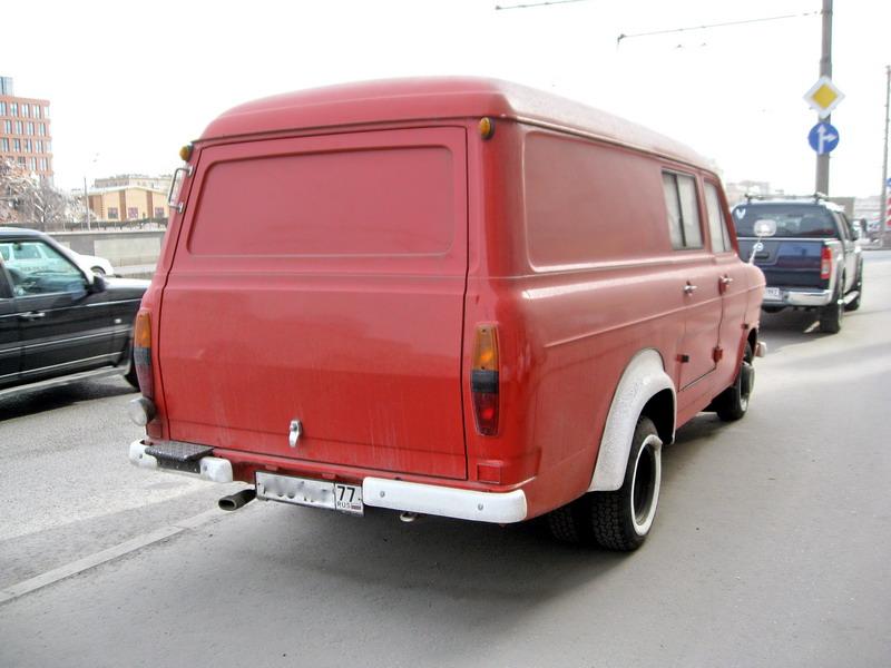 ford transit back уменьш