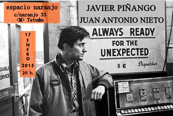 Nieto y Piñango cartel naranjo