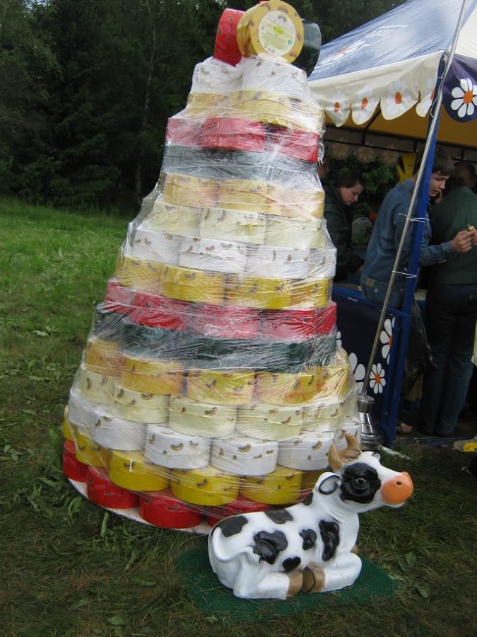 сырная пирамида
