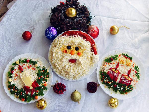 новогодние блюда)