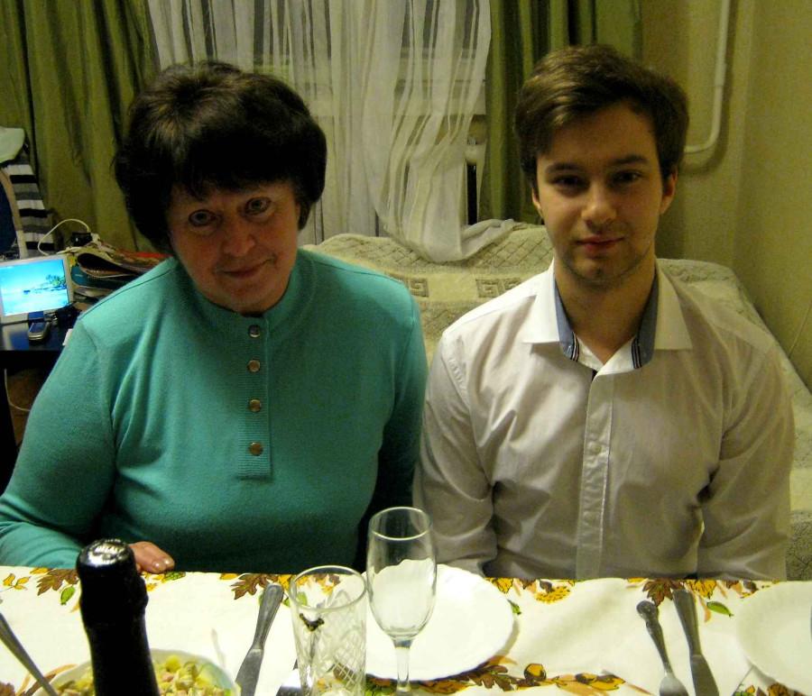 игорь и бабушка Таня