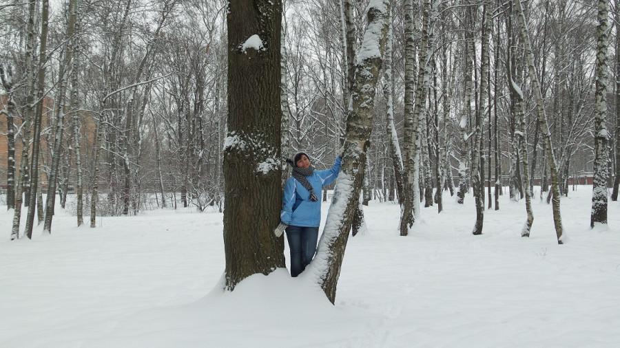 во поле я тоже стояла)