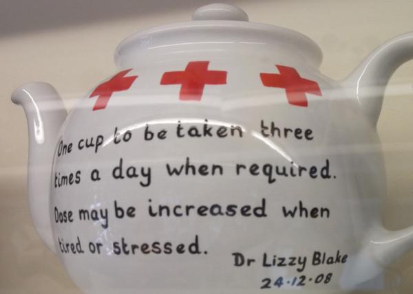 First Aid Teapot