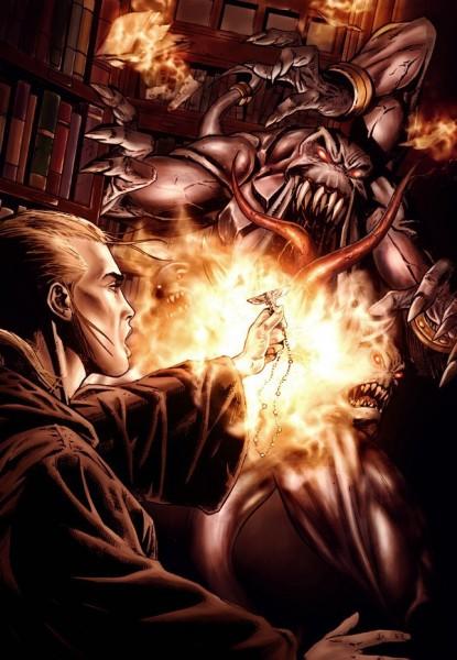 Эуфратия Киилер изгоняет демона Тзинча