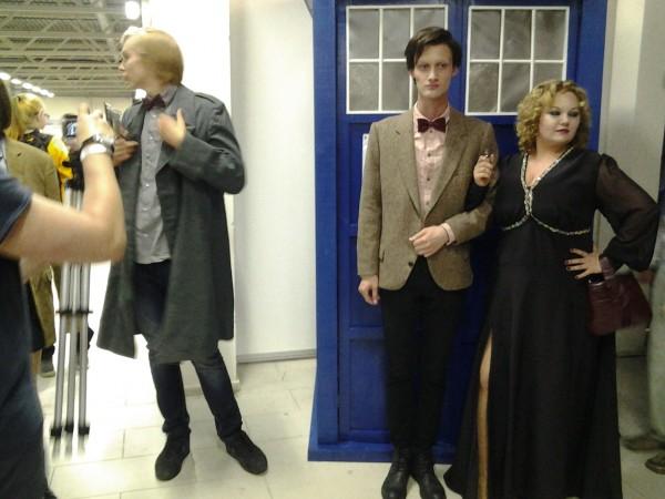 Два Доктора у Тардис