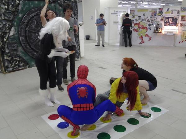 твистер с человеком пауком лучшее