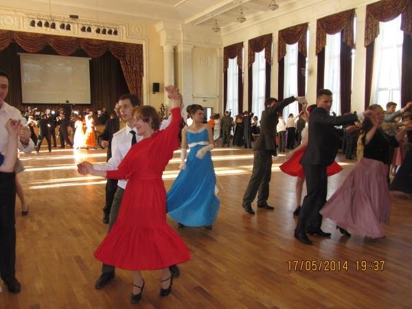 танцы снова