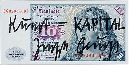 Kunst = KAPITAL, Beuys 1979