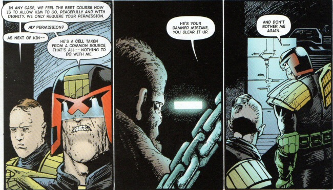 Dredd refuses to take responsibility