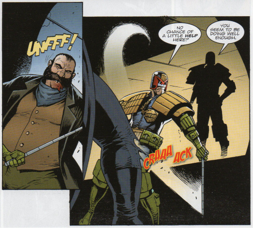 Dredd requests a little help