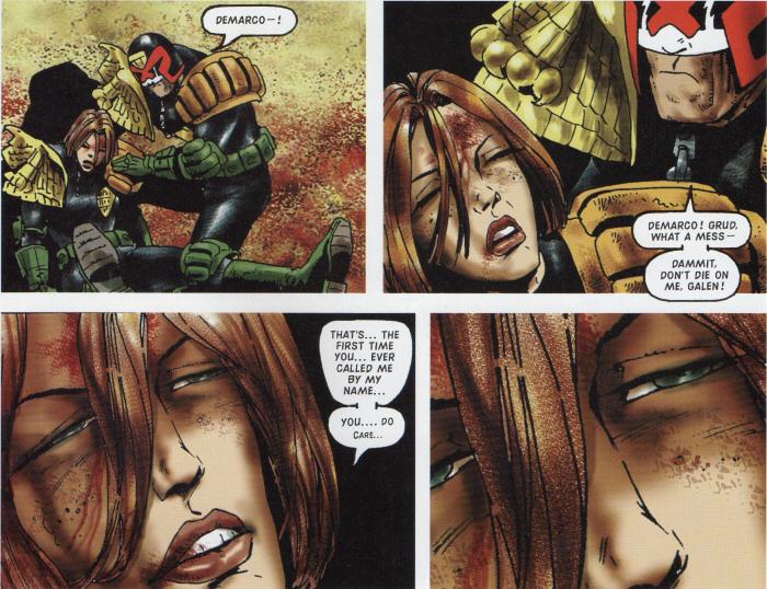 Dredd rescues DeMarco